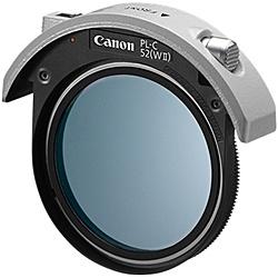 【送料無料】Canon 4774B001 52mmドロップイン円偏光フィルター PL-C52(WII)【在庫目安:お取り寄せ】| カメラ 偏光フィルター 偏光フィルタ 偏光 フィルター フィルタ レンズフィルター レンズフィルタ