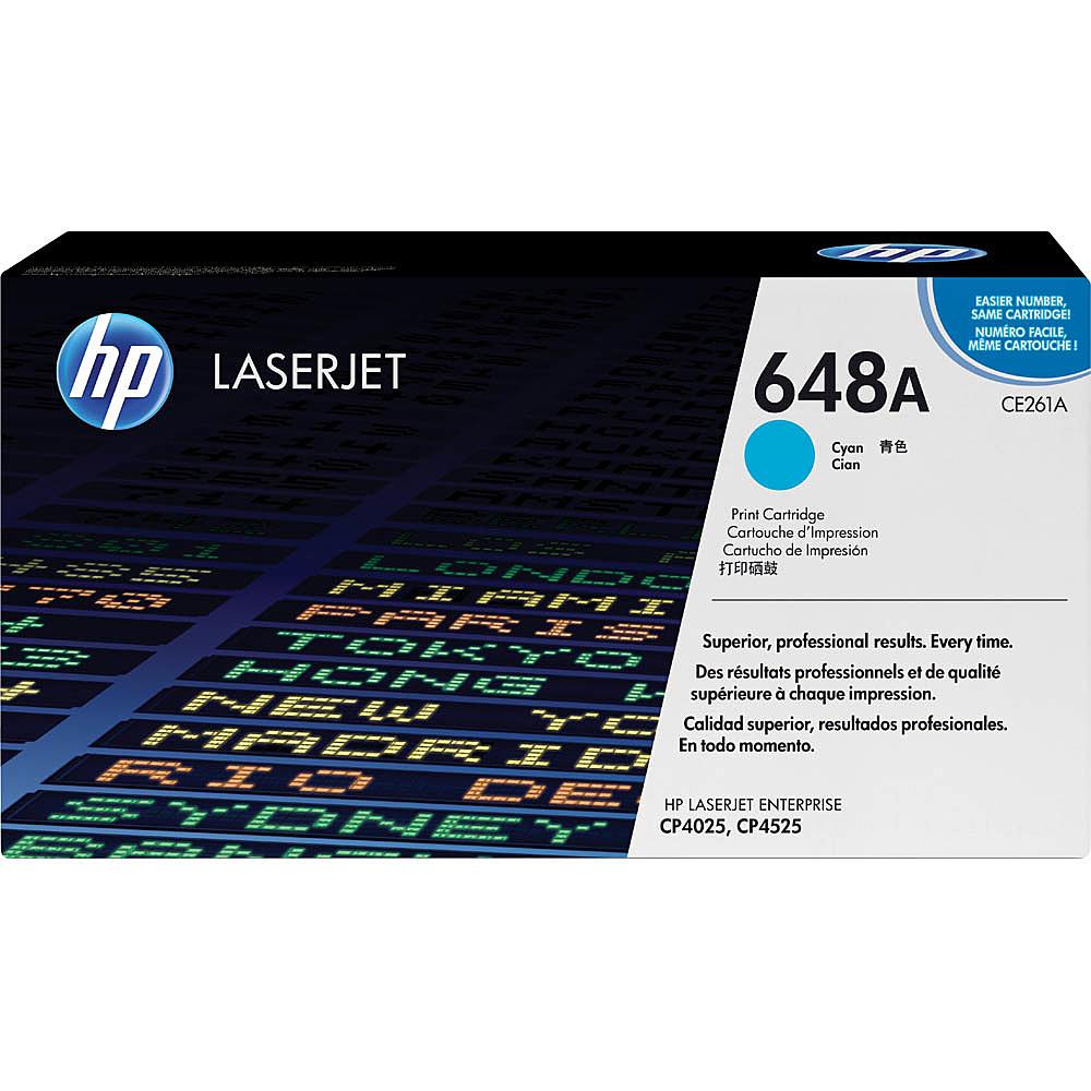 【送料無料】HP CE261A 648A シアン トナーカートリッジ(CP4525)【在庫目安:お取り寄せ】| トナー カートリッジ トナーカットリッジ トナー交換 印刷 プリント プリンター