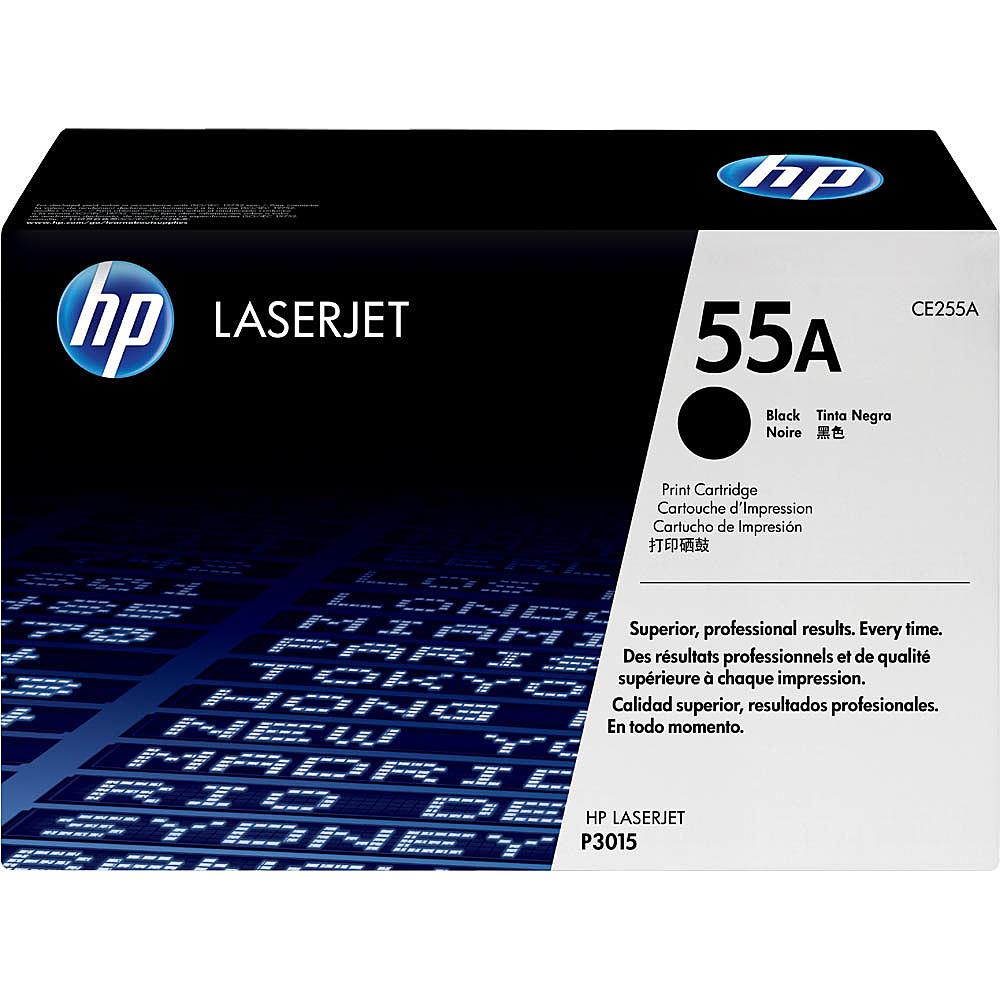 【在庫目安:あり】【送料無料】HP CE255A 55A 黒 トナーカートリッジ(P3015)| トナー カートリッジ トナーカットリッジ トナー交換 印刷 プリント プリンター