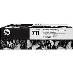 【在庫目安:あり】【送料無料】HP C1Q10A 711 プリントヘッド交換キット