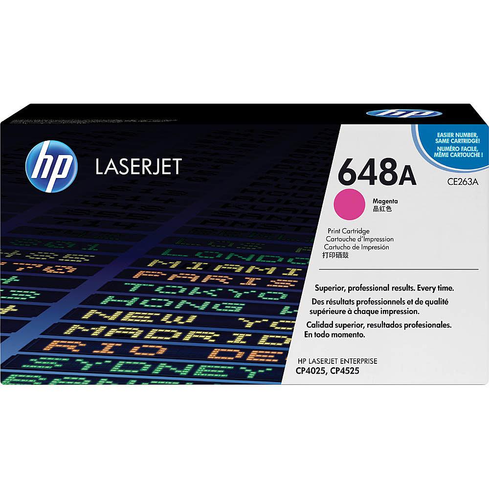 【送料無料】HP CE263A 648A マゼンタ トナーカートリッジ(CP4525)【在庫目安:僅少】| トナー カートリッジ トナーカットリッジ トナー交換 印刷 プリント プリンター