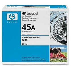 【送料無料】HP Q5945A トナーカートリッジ(LJ4345mfp/ 4345xmfp用)【在庫目安:お取り寄せ】| トナー カートリッジ トナーカットリッジ トナー交換 印刷 プリント プリンター