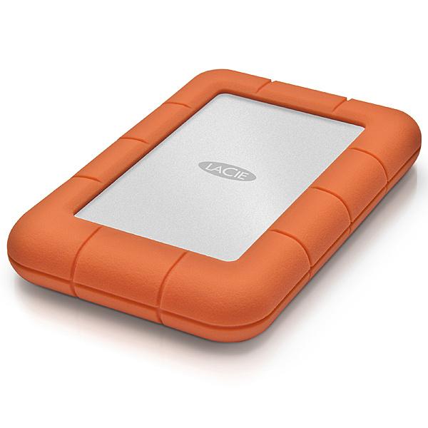 【送料無料】LaCie STJJ5000400 Rugged Mini 5TB【在庫目安:お取り寄せ】| パソコン周辺機器 ポータブル 外付けハードディスクドライブ 外付けハードディスク 外付けHDD ハードディスク 外付け 外付 HDD USB