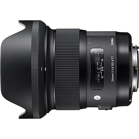 【送料無料】SIGMA 24/1.4DG HSM NA 24mm F1.4 DG HSM ニコン用【在庫目安:お取り寄せ】| カメラ 単焦点レンズ 交換レンズ レンズ 単焦点 交換 マウント ボケ