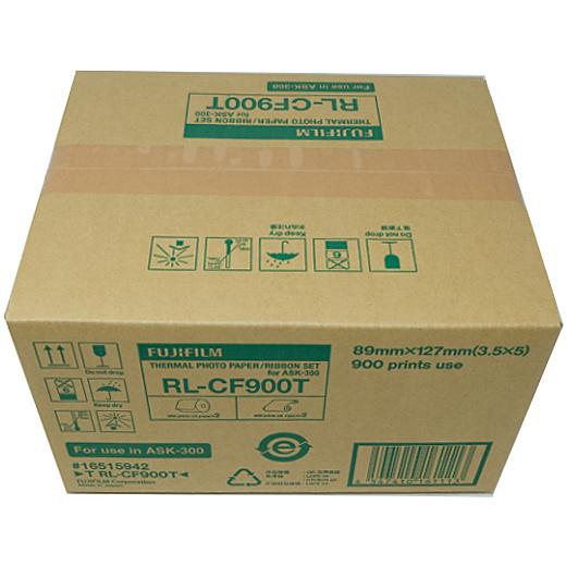 【送料無料】富士フイルム T-RL-CF900T サーマルフォトプリントセット(Lサイズ用:900枚分)【在庫目安:お取り寄せ】
