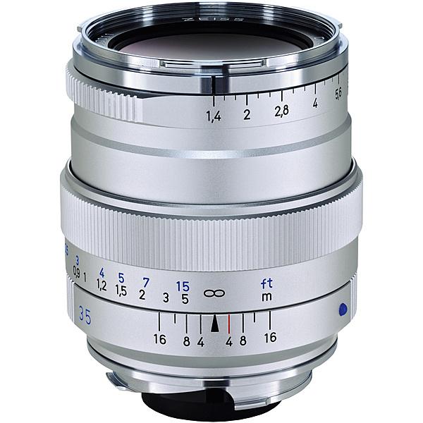 【送料無料】コシナ 170549 Carl Zeiss Distagon T* 35mm F1.4 ZMマウント シルバー【在庫目安:お取り寄せ】| カメラ 単焦点レンズ 交換レンズ レンズ 単焦点 交換 マウント ボケ