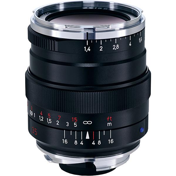 【送料無料】コシナ 170550 Carl Zeiss Distagon T* 35mm F1.4 ZMマウント ブラック【在庫目安:お取り寄せ】| カメラ 単焦点レンズ 交換レンズ レンズ 単焦点 交換 マウント ボケ
