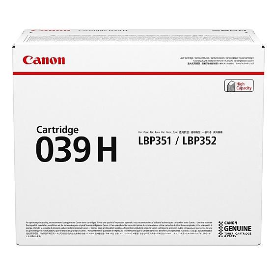 【送料無料】Canon 0288C001 CRG-039H トナーカートリッジ039H【在庫目安:僅少】| トナー カートリッジ トナーカットリッジ トナー交換 印刷 プリント プリンター
