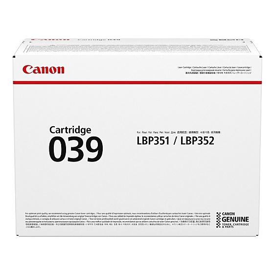 【送料無料】Canon 0287C001 トナーカートリッジ039【在庫目安:お取り寄せ】| トナー カートリッジ トナーカットリッジ トナー交換 印刷 プリント プリンター