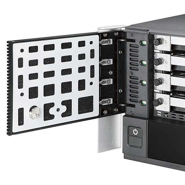 【送料無料】ELECOM NSB-75S16T4DW6 Windows Storage Server 2016 Workgroup搭載NAS/ 4Bay/ Cube型/ 16TB/ QuadCore採用/ RAID5/ 0/ 1【在庫目安:お取り寄せ】| パソコン周辺機器 WindowsNAS Windows Nas RAID 外付け 外付
