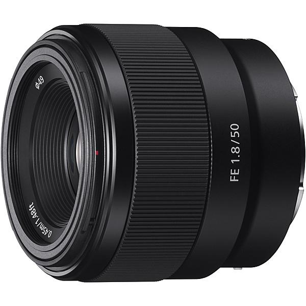 【送料無料】SONY SEL50F18F Eマウント交換レンズ FE 50mm F1.8【在庫目安:お取り寄せ】| カメラ 単焦点レンズ 交換レンズ レンズ 単焦点 交換 マウント ボケ