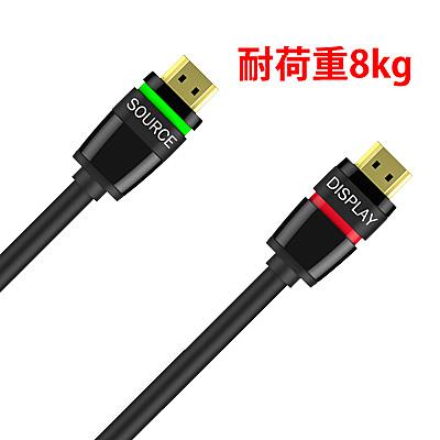 【送料無料】ハイテクインター 158-RT-003 メカニカルロック式HDMIケーブル 10m (耐荷重8kg)【在庫目安:お取り寄せ】| サプライ HDMIケーブル オス-オス HDMI ケーブル