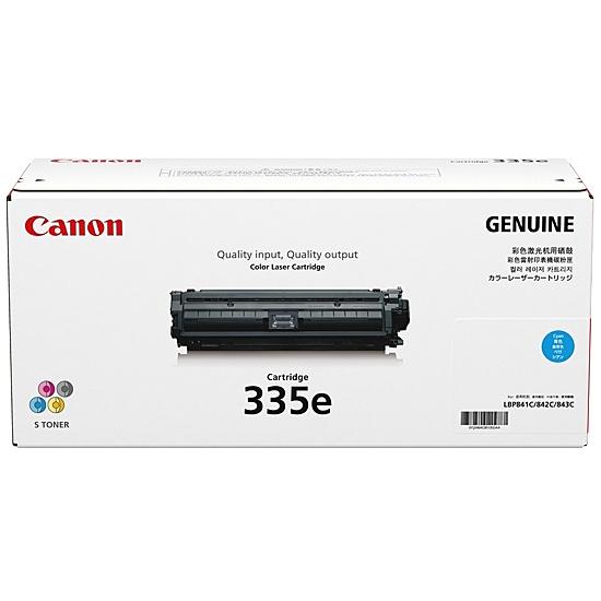 【送料無料】Canon 0464C001 CRG-335ECYN トナーカートリッジ335e C (シアン)【在庫目安:僅少】| トナー カートリッジ トナーカットリッジ トナー交換 印刷 プリント プリンター