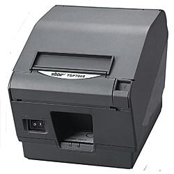 【送料無料】スター精密 TSP743 II D-24J1-GRY-JP サーマルプリンタ TSP700シリーズ グレー色【在庫目安:お取り寄せ】| プリンタ サーマルプリンタ ラベルプリンタ サーマル ラベル レシート バーコード コンパクト 小型 モバイル