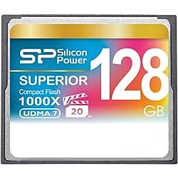 【送料無料】シリコンパワー SP128GBCFC1K0V10 コンパクトフラッシュカード 1000倍速 128GB 永久保証【在庫目安:お取り寄せ】