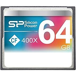 【送料無料】シリコンパワー SP064GBCFC400V10 コンパクトフラッシュカード 400倍速 64GB 永久保証【在庫目安:お取り寄せ】