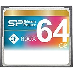 【送料無料】シリコンパワー SP064GBCFC600V10 コンパクトフラッシュカード 600倍速 64GB 永久保証【在庫目安:お取り寄せ】