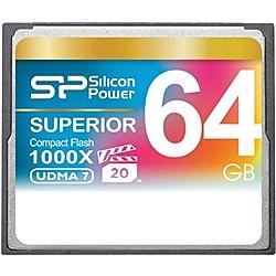 【送料無料】シリコンパワー SP064GBCFC1K0V10 コンパクトフラッシュカード 1000倍速 64GB 永久保証【在庫目安:お取り寄せ】