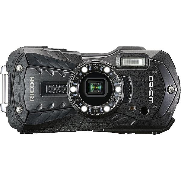 【送料無料】リコーイメージング WG-60BK 防水デジタルカメラ WG-60 (ブラック)【在庫目安:お取り寄せ】