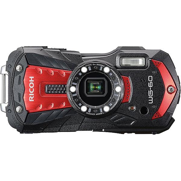【送料無料】リコーイメージング WG-60RD 防水デジタルカメラ WG-60 (レッド)【在庫目安:お取り寄せ】