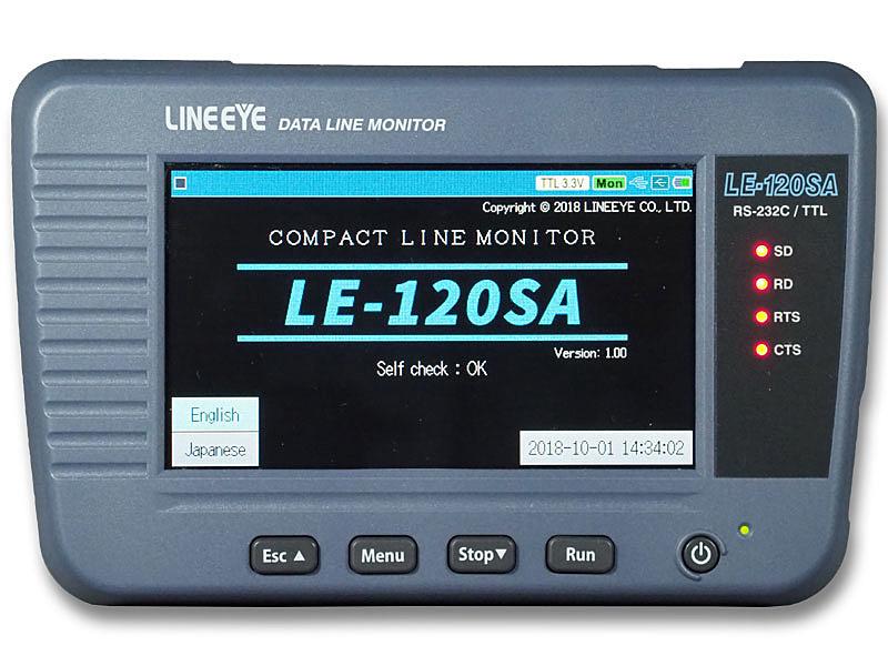 【翌日発送可能】 RS-232C、TTL LE-120SA 【送料無料】ラインアイ データラインモニター (UART)対応【在庫目安:お取り寄せ】:アップル専門店「PLUSYU堂」-DIY・工具
