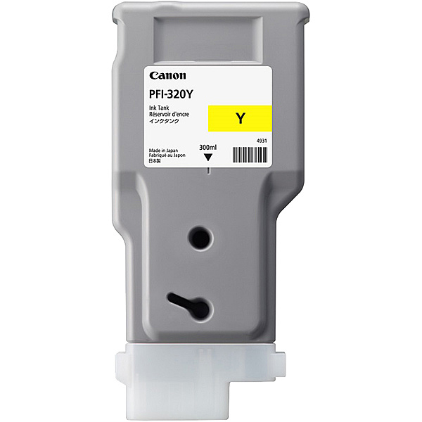 【送料無料】Canon 2893C001 インクタンク PFI-320Y【在庫目安:僅少】| インク インクカートリッジ インクタンク 純正 純正インク