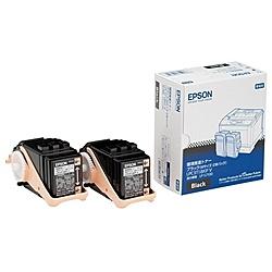 【送料無料】EPSON LPC3T18KPV メーカー純正 LP-S7100用 環境推進トナー/ ブラック/ Mサイズ2個パック(5500ページ×2)【在庫目安:僅少】| トナー カートリッジ トナーカットリッジ トナー交換 印刷 プリント プリンター