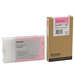 【送料無料】EPSON ICLM39A メーカー純正 インクカートリッジ ライトマゼンタ 220ml【在庫目安:僅少】| 消耗品 インク インクカートリッジ インクタンク 純正 インクジェット プリンタ 交換 新品 マゼンタ