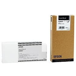 【送料無料】EPSON ICMB57 メーカー純正 インクカートリッジ マットブラック 350ml (PX-H10000/ H8000用)【在庫目安:僅少】  インク インクカートリッジ インクタンク 純正 純正インク