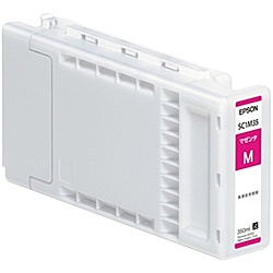 【送料無料】EPSON SC1M35 SureColor用 インクカートリッジ/ 350ml(マゼンタ)【在庫目安:僅少】  消耗品 インク インクカートリッジ インクタンク 純正 インクジェット プリンタ 交換 新品 マゼンタ