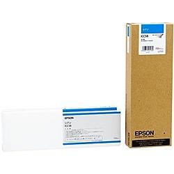 【在庫目安:あり】【送料無料】EPSON ICC58 メーカー純正 インクカートリッジ シアン 700ml (PX-H10000/ H8000用)