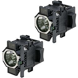 【送料無料】EPSON ELPLP73 液晶プロジェクター用 交換用ランプ/ 330W UHE/ 2個セット【在庫目安:お取り寄せ】| 表示装置 プロジェクター用ランプ プロジェクタ用ランプ 交換用ランプ ランプ カートリッジ 交換 スペア プロジェクター プロジェクタ