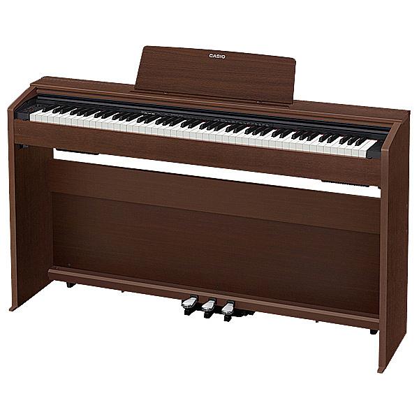 【送料無料】CASIO PX-870BN デジタルピアノ プリヴィア PX-870 オークウッド調【在庫目安:お取り寄せ】