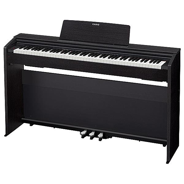 【送料無料】CASIO PX-870BK デジタルピアノ プリヴィア PX-870 ブラックウッド調【在庫目安:お取り寄せ】