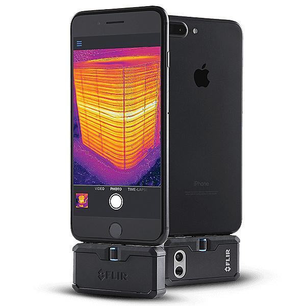 【送料無料】フリアーシステムズジャパン 435-0006-03 小型赤外線カメラ FLIR ONE Pro iOS版【在庫目安:お取り寄せ】