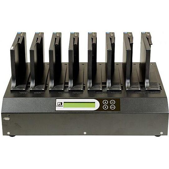 【送料無料】U-Reach Japan IT-700U 1:7 SATA HDD/ SSDデュプリケータ SATA HDD/ SSDのコピー、消去が可能な業務用デュプリケータの高速版。ケーブルレスタイプ 転送速度500MB/ 秒【在庫目安:お取り寄せ】
