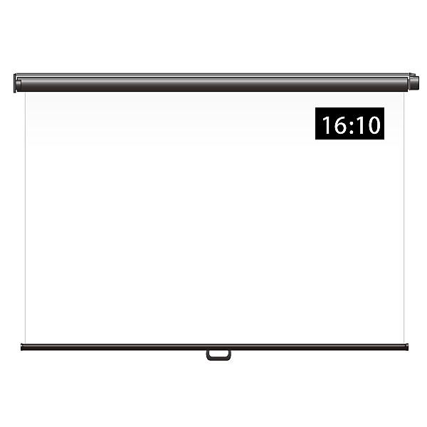【送料無料】シアターハウス BSP1508FEH スプリングスクリーン 引っ掛け棒タイプ 16:10 70インチ【在庫目安:お取り寄せ】