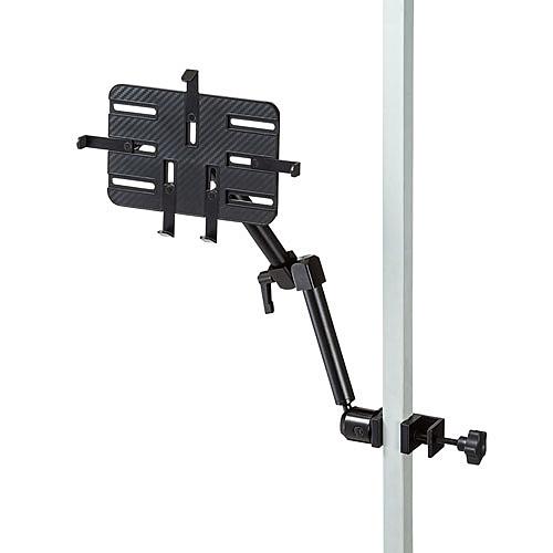 【送料無料】サンワサプライ CAR-SPHLD5 支柱取り付け用タブレットホルダー(3関節)【在庫目安:お取り寄せ】| スマホ スマートフォン スマートホン