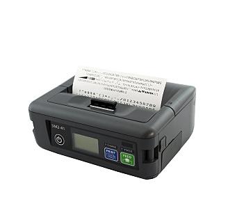 【送料無料】三栄電機 SM2-41W 紙幅112mmラベル対応モバイルタイプライン印字方式小型サーマルプリンタ(Bluetooth・USB・シリアル・WiFi)【在庫目安:お取り寄せ】  プリンタ サーマルプリンタ ラベルプリンタ