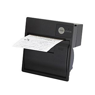 【送料無料】三栄電機 SP2-21SJ-B 紙幅58mmパネルマウントタイプライン超小型サーマルプリンタ(ケース黒)【在庫目安:お取り寄せ】| プリンタ サーマルプリンタ ラベルプリンタ サーマル ラベル レシート バーコード コンパクト 小型 モバイル