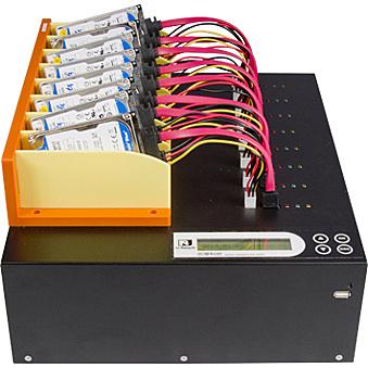 【送料無料】U-Reach Japan MT800U 1:7 SATA HDD/ SSDデュプリケータ SATA HDD/ SSDのコピー、消去が可能な業務用デュプリケータ高速版。ケーブル接続タイプ 転送速度500MB/ 秒【在庫目安:お取り寄せ】