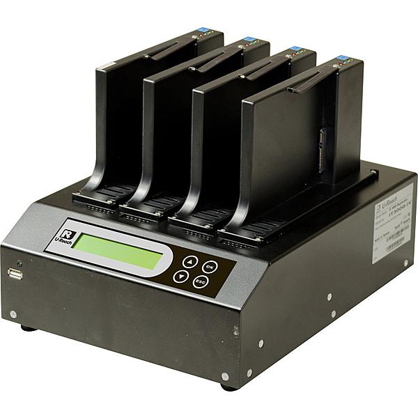 【送料無料】U-Reach Japan IT-300U 1:3 SATA HDD/ SSDデュプリケータ SATA HDD/ SSDのコピー、消去が可能な業務用デュプリケータの高速版。ケーブルレスタイプ 転送速度500MB/ 秒【在庫目安:お取り寄せ】