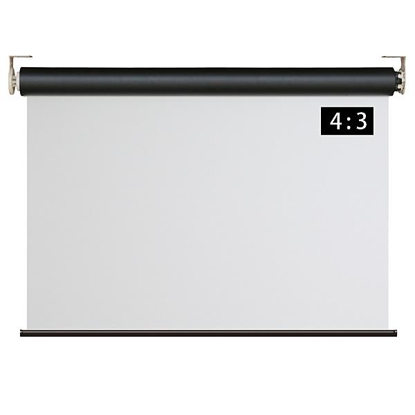 【送料無料】シアターハウス WRF2033FEH 遠距離操作壁リモコン電動スクリーン 4:3 100インチ【在庫目安:お取り寄せ】| 表示装置 スクリーン 投影 プロジェクター プロジェクタ 型 インチ 吊下 壁掛