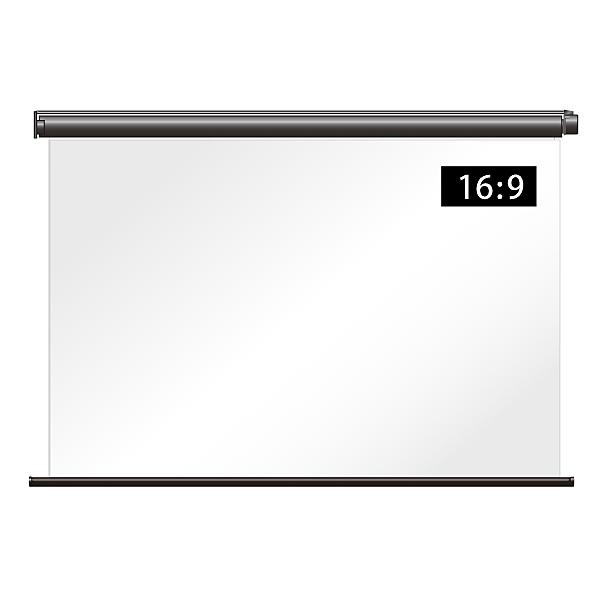 【送料無料】シアターハウス BDR1780FTS 電動タイプケースなし リア投影スクリーン ワイド80インチ【在庫目安:お取り寄せ】| 表示装置 スクリーン 投影 プロジェクター プロジェクタ 型 インチ 吊下 壁掛