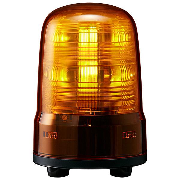 【送料無料】パトライト SF08-M1JN-Y 小型LED回転灯 黄 DC12~24V【在庫目安:お取り寄せ】