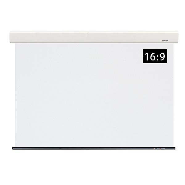 【送料無料】シアターハウス WCB1780FEH-H2300 ケース付電動リモコンスクリーン ワイド80インチ【在庫目安:お取り寄せ】| 表示装置 スクリーン 投影 プロジェクター プロジェクタ 型 インチ 吊下 壁掛