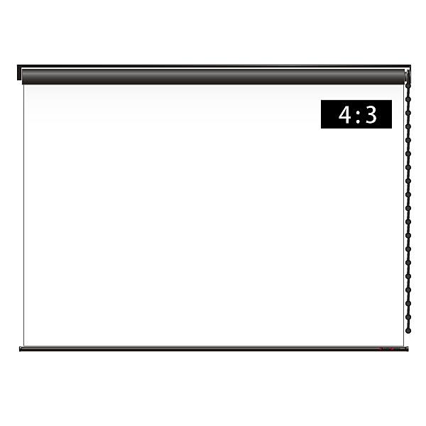 【送料無料】シアターハウス BCH1627FEH-H2500 チェーンスクリーン 4:3 80インチ【在庫目安:お取り寄せ】| 表示装置 スクリーン 投影 プロジェクター プロジェクタ 型 インチ 吊下 壁掛
