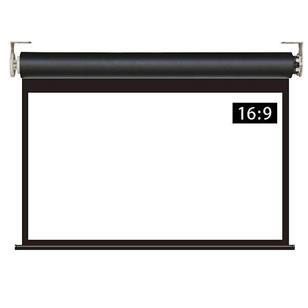 【送料無料】シアターハウス WRF1771WEM 遠距離操作壁リモコン電動スクリーン 16:9 80インチ ブラックマスク付き【在庫目安:お取り寄せ】| 表示装置 スクリーン 投影 プロジェクター プロジェクタ 型 インチ 吊下 壁掛