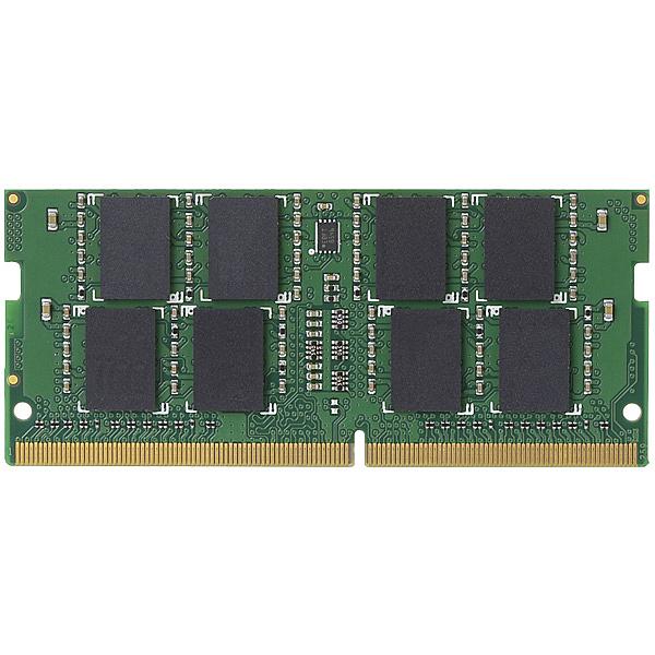 【送料無料】ELECOM EW2400-N8G/RO EU RoHS指令準拠メモリモジュール/ DDR4-SDRAM/ DDR4-2400/ 260pin S.O.DIMM/ PC4-19200/ 8GB/ ノート用【在庫目安:お取り寄せ】