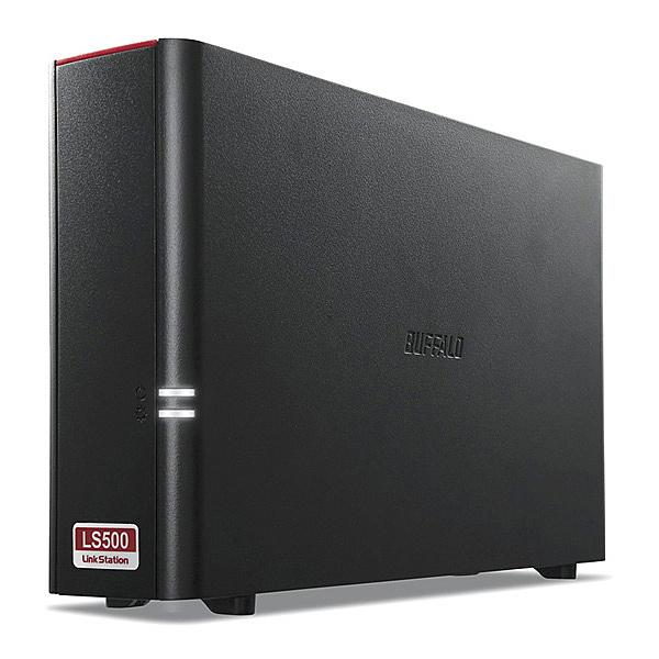 【在庫目安:あり】【送料無料】BUFFALO LS510D0101G リンクステーション ネットワークHDD 高速モデル 1TB